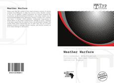Bookcover of Weather Warfare