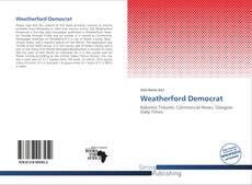 Borítókép a  Weatherford Democrat - hoz