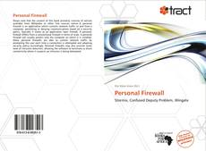 Bookcover of Personal Firewall