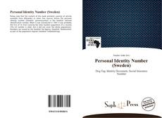 Bookcover of Personal Identity Number (Sweden)