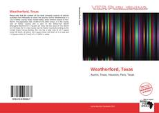 Bookcover of Weatherford, Texas