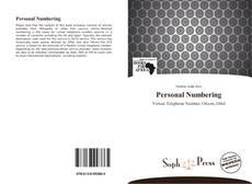 Personal Numbering kitap kapağı