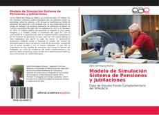 Buchcover von Modelo de Simulación Sistema de Pensiones y Jubilaciones
