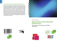 Bookcover of Personality And Individual Differences