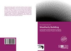 Weatherly Building kitap kapağı