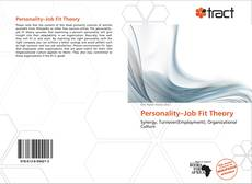 Bookcover of Personality–Job Fit Theory