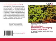 Bookcover of Abundancia de Escarabajos coprófagos y Lombrices de tierra