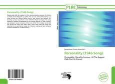 Bookcover of Personality (1946 Song)