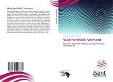 Capa do livro de Weathersfield, Vermont