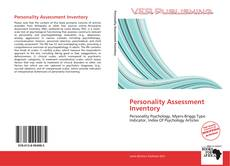 Capa do livro de Personality Assessment Inventory