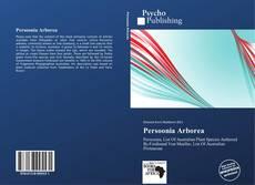 Bookcover of Persoonia Arborea