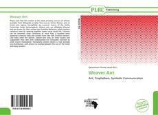 Borítókép a  Weaver Ant - hoz
