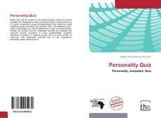 Bookcover of Personality Quiz