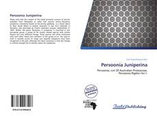 Bookcover of Persoonia Juniperina