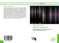 Bookcover of Weaver Syndrome