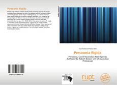 Buchcover von Persoonia Rigida