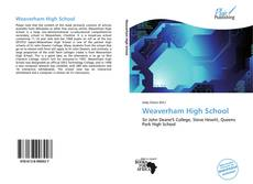 Bookcover of Weaverham High School