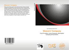 Bookcover of Weavers' Company
