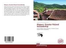 Capa do livro de Kleparz, Greater Poland Voivodeship