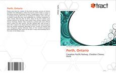 Bookcover of Perth, Ontario