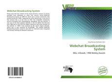 Portada del libro de Webchat Broadcasting System
