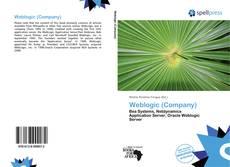 Portada del libro de Weblogic (Company)