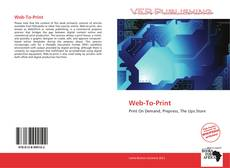 Bookcover of Web-To-Print