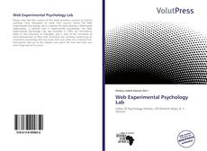 Bookcover of Web Experimental Psychology Lab
