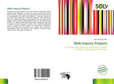 Bookcover of Web Inquiry Projects