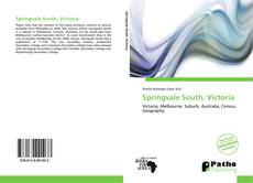 Bookcover of Springvale South, Victoria