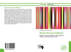 Portada del libro de Nazim Hussain Siddiqui