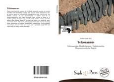 Teleosaurus kitap kapağı