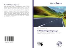 Portada del libro de M-115 (Michigan Highway)