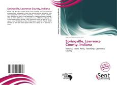Capa do livro de Springville, Lawrence County, Indiana