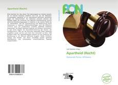 Bookcover of Apartheid (Recht)