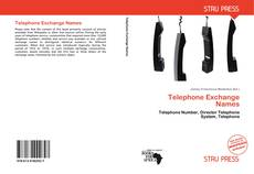 Buchcover von Telephone Exchange Names