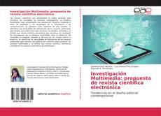 Capa do livro de Investigación Multimedia: propuesta de revista científica electrónica