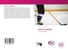 Roman Sabiński kitap kapağı