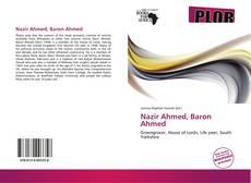 Nazir Ahmed, Baron Ahmed kitap kapağı