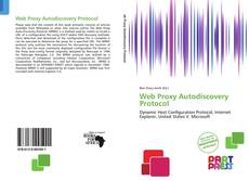 Bookcover of Web Proxy Autodiscovery Protocol