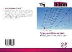 Telephone Balance Unit的封面