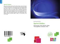 Bookcover of Sprint Stakes