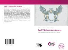 Buchcover von Apel Vitzthum der Jüngere