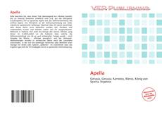 Bookcover of Apella