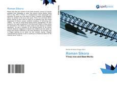 Roman Sikora kitap kapağı