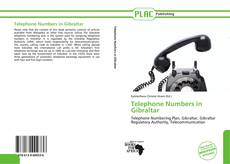 Capa do livro de Telephone Numbers in Gibraltar