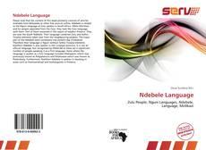 Borítókép a  Ndebele Language - hoz