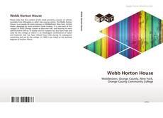 Buchcover von Webb Horton House