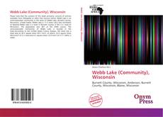 Buchcover von Webb Lake (Community), Wisconsin
