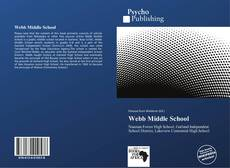 Bookcover of Webb Middle School